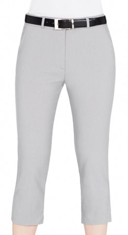 Ladies Sporte Leisure Tech Capri Silver