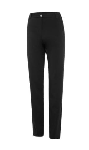 Ladies Birdee Techno Belted Pant Black