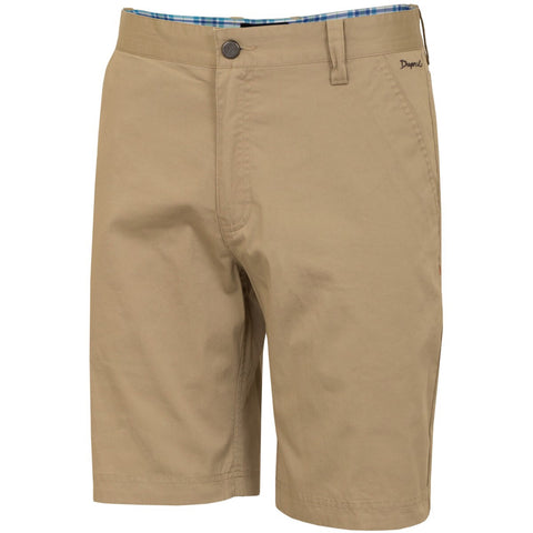 Mens Dwyers & Co Lightweight Cotton Shorts Beige