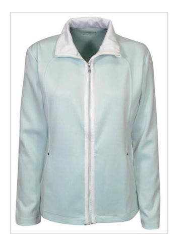 Ladies Maggie Lane Full Zip Jacket Light Green
