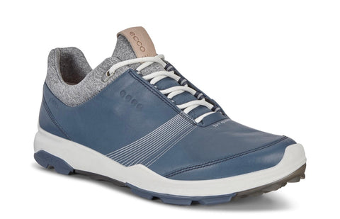 Ladies Ecco Biom Hybrid 3 Golf Shoes Denim Blue