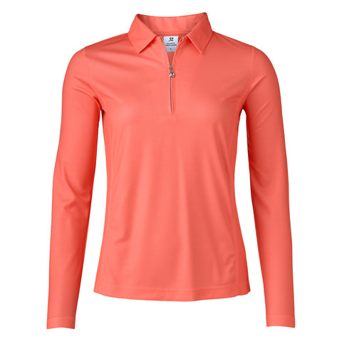 Ladies Daily Sports Macy Longsleeve Polo Flame