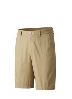 Mens Fairway & Greene Cacona Flat Front Shorts British Tan