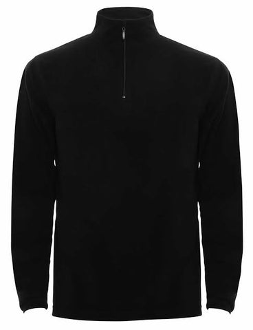 Mens Tenson 1/4 Zip Microfleece Black