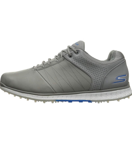 Mens Skechers Go Golf Elite 2 Soft Spike Shoes Grey