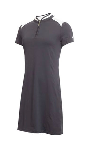 Ladies Green Lamb Edith Dress Navy/White