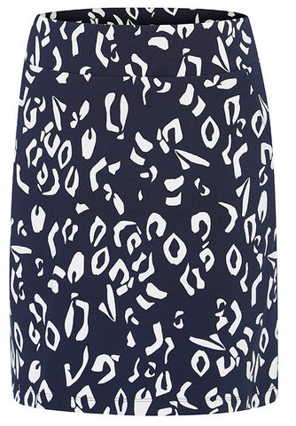 Ladies Birdee Sport Zenya Pull On Skort Navy
