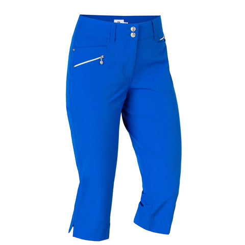 Ladies Daily Sports Miracle Capri Ultra Blue