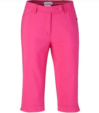 Ladies EP Pro Stretch Tech Capri Pink