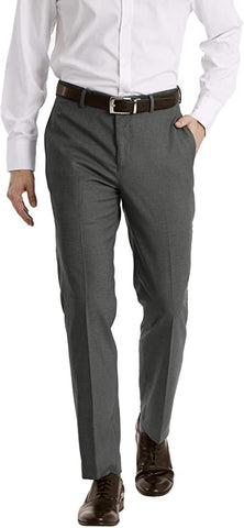Mens Calvin Klein Stretch Comfort Pants Charcoal