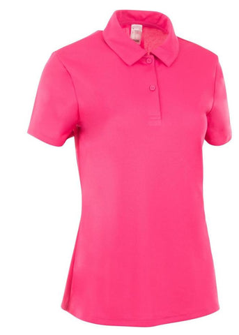 Ladies Cross Merino Polo Pink