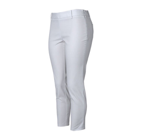 Ladies Oxford Bonita Pants Grey - Golf Stitch