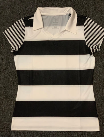 Ladies Abacus Emmy Polo White/Black