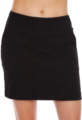 Ladies Bette & Court Stretch Skort Black