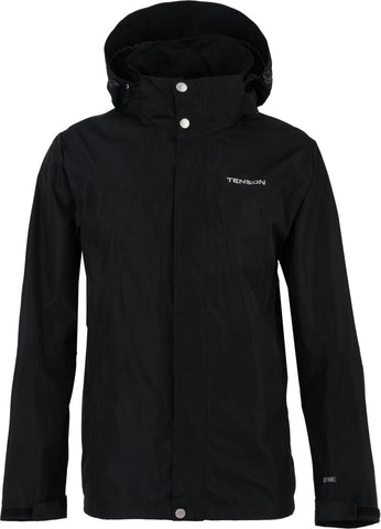 Mens Tenson Monitor Waterproof Jacket Black