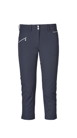 Ladies Daily Sports Miracle Capri Navy