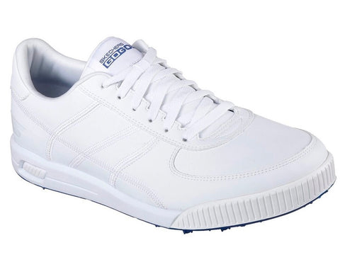 Mens Skechers Classic Golf Shoes White