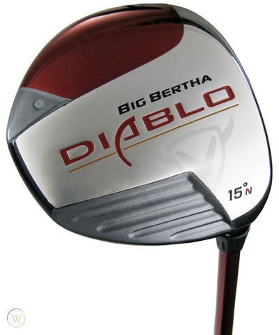 Mens Callaway Diablo 5 Fairway Wood
