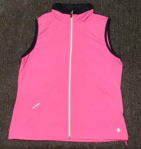 Ladies Abacus Glade Wind Vest Cherry Blossom