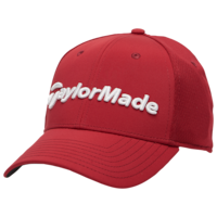 Mens Taylormade Tour Cap Red