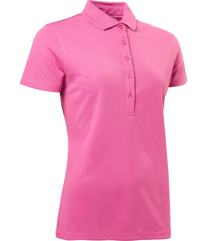 Ladies Abacus Clark Polo Pink