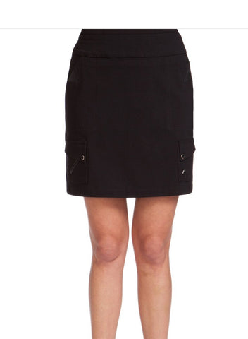 Ladies Jamie Saddock Solid Skort Black