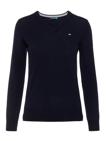 Ladies J.Lindeberg Amaya Merino Sweater Black