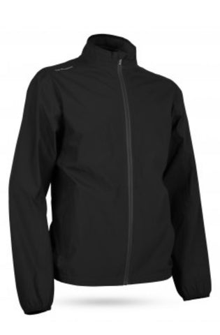 Mens Sun Mountain Monsoon Waterproof Jacket Black
