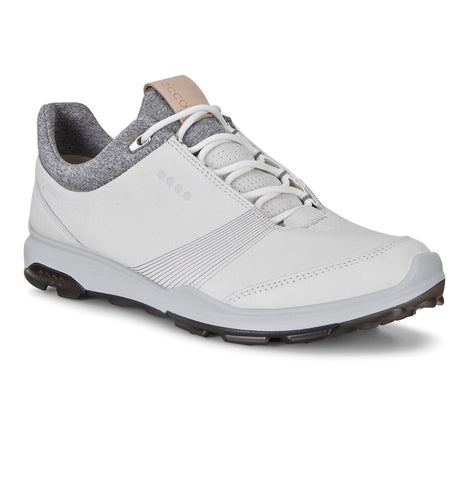 Ladies Ecco Biom Hybrid 3 Golf Shoes White/Black