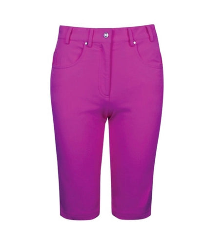 Ladies Cross Mist Shorts Dark Raspberry