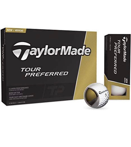 Taylormade Tour Prefered 12 Pack Pre Hit Golf Balls