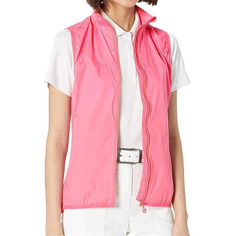 Ladies J.Lindeberg Lilly Trusty Vest Hubba Bubba
