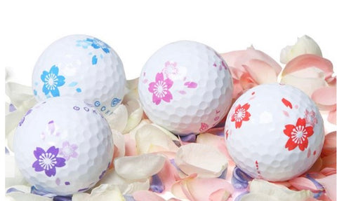 Vision Tour Series Golf Balls Flower Prints 1 DOZ