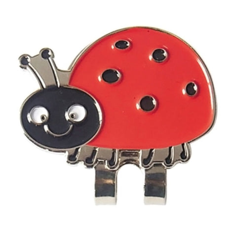Crystal Ball Marker with Hat Clip Lady Bug