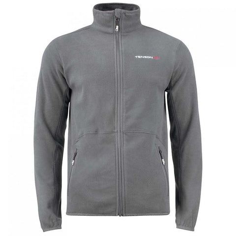 Mens Tenson Miller Full Zip Fleece Grey