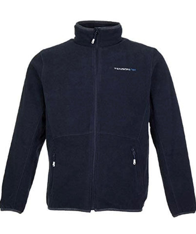 Mens Tenson Marleo Lined Full Zip Fleece Black