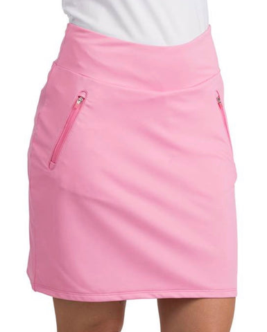 Ladies Antigua Stretch Skort Pink