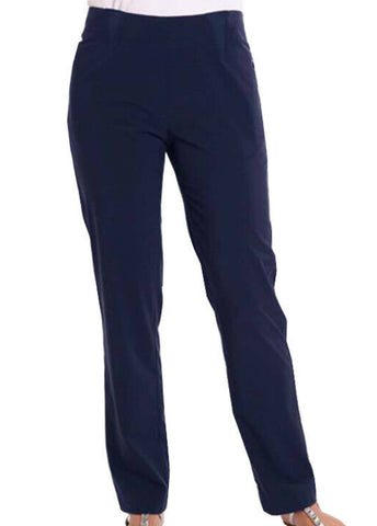 Ladies Birdee Techno Pull On Pant Navy