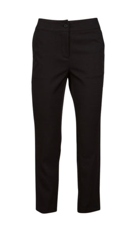 Ladies Andrew Marc Stretch Tech 7/8 Pant Heathered Black