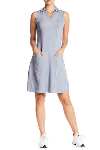 Ladies Jo Fit Spin Golf dress Chambray