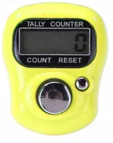 Digital Score Counter Yellow
