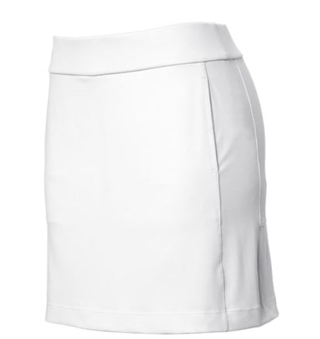 Ladies EP Pro Tour Tech Solid Skort White