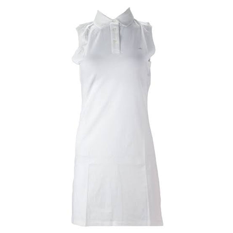 Ladies J.Lindeberg Reeta TX Jersey Dress White