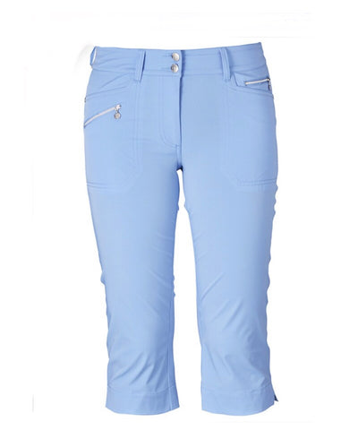 Ladies Daily Sports Miracle Capri Sky Blue