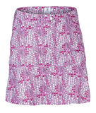 Ladies Daily Sports Court Skort Pink/White