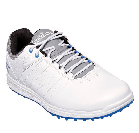 Mens Skechers Pivot Golf Shoes White