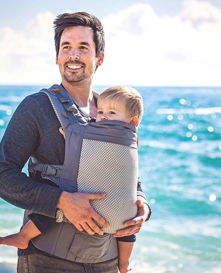 Beco Toddler Carrier - Cool Grey