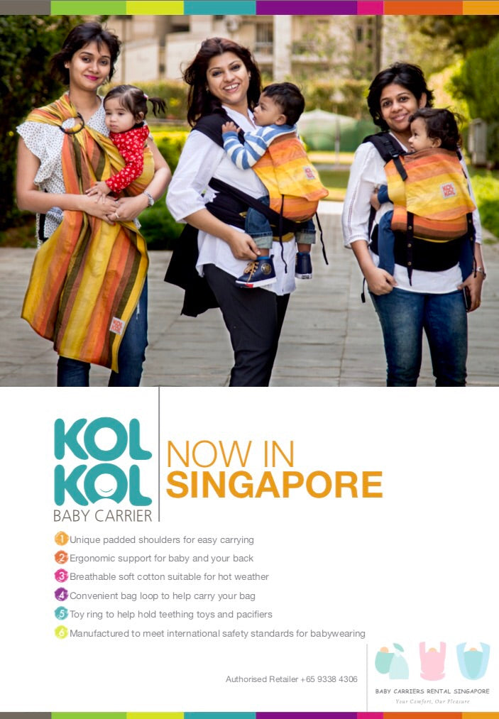 79bbe572328 Kol Kol Baby Carrier - Meh Dai Onbuhimo – Baby Carriers Rental SG