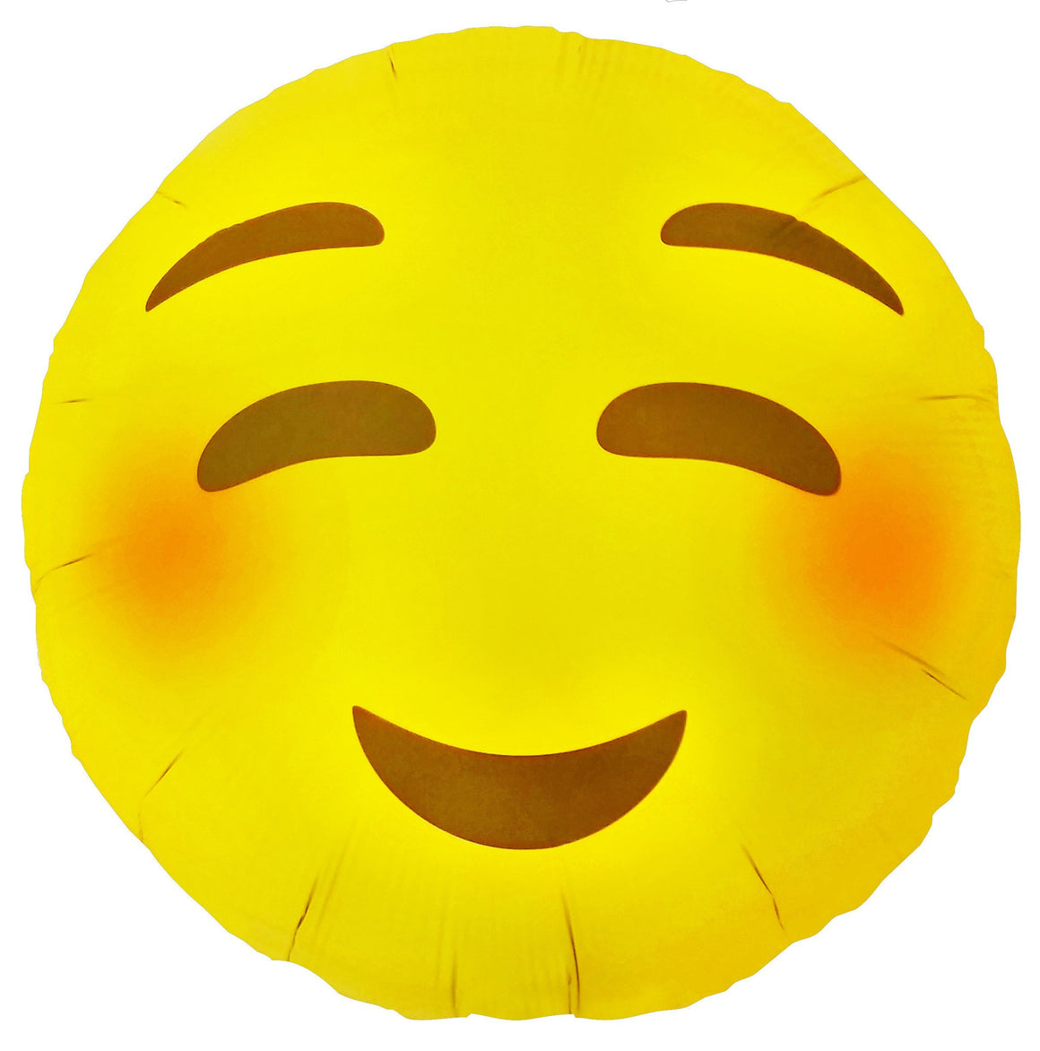 BALLOONS - EMOJI NORTHSTAR BLUSHING SMILE, Balloons, Northstar - Bon + Co. Party Studio