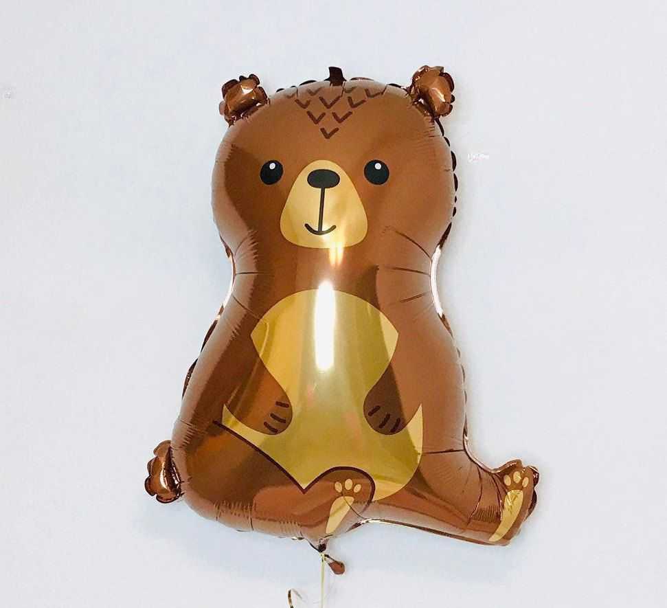 BALLOONS - ANIMAL WOODLAND BEAR